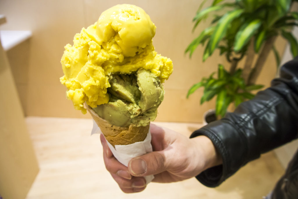 Nice Vice Creamery - Mango and Matcha