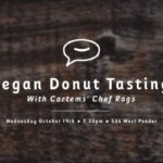 vegan donut tasting