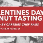 valentine's donut tasting